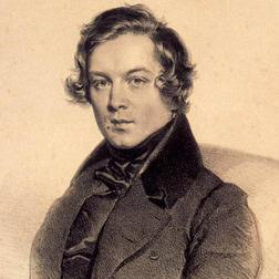 Melody sheet music by Robert Schumann