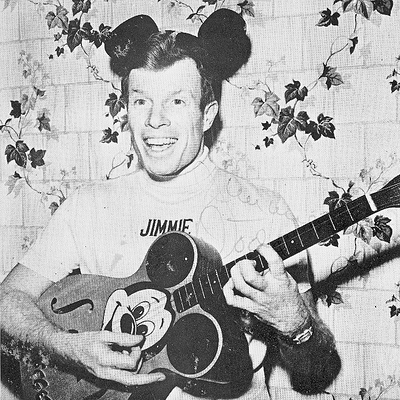 Jimmie Dodd Mickey Mouse March cover art
