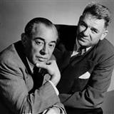 Ten Minutes Ago sheet music by Rodgers & Hammerstein