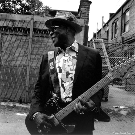 Buddy Guy John Lee Hooker Style, Blues In E, Blues In A cover art