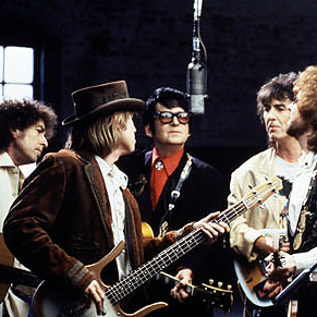 The Traveling Wilburys Last Night cover art