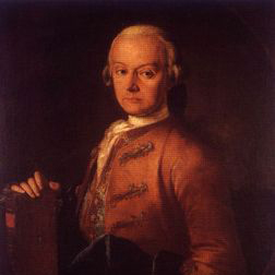 Minuet sheet music by Leopold Mozart