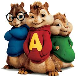 In The Family sheet music by Alvin And The Chipmunks