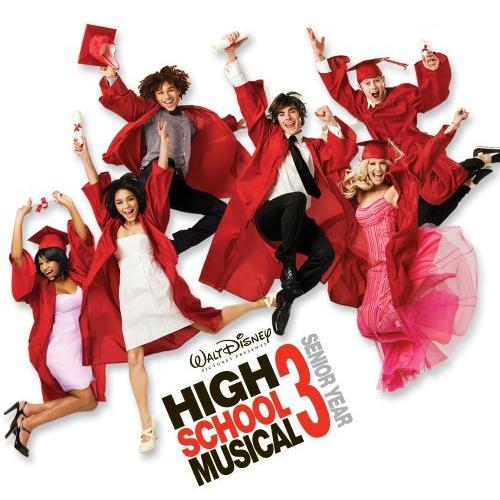 High School Musical 3 Right Here Right Now cover art