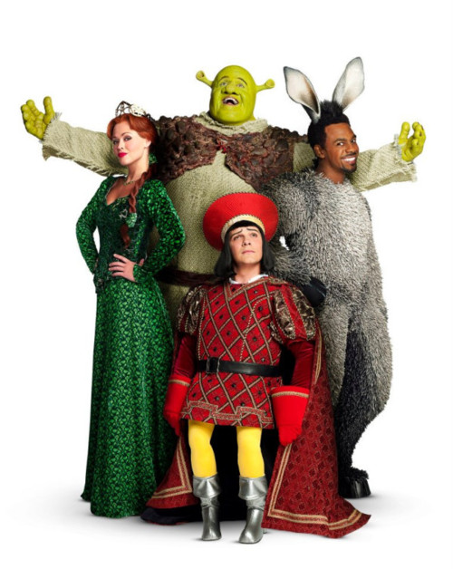 Shrek The Musical Build A Wall cover art
