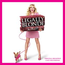 Serious sheet music by Legally Blonde The Musical