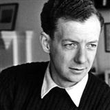 O Waly, Waly sheet music by Benjamin Britten