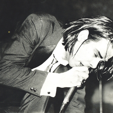 Nick Cave I Let Love In cover art