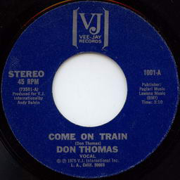 Don Thomas Come On Train cover art