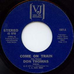 Come On Train sheet music by Don Thomas