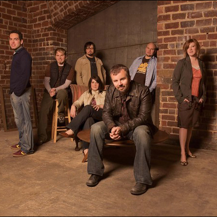 Casting Crowns Waiting On The Night To Fall cover art