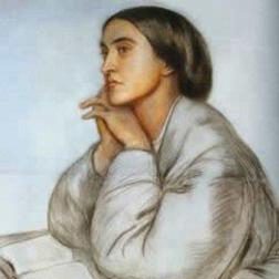 Rest sheet music by Christina Rossetti