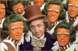 Willy Wonka I See It All On TV cover art