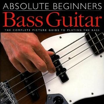 Absolute Beginners Bass Guitar From A To E, Up To D cover art