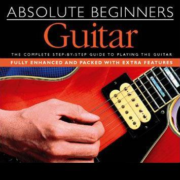 Absolute Beginners Guitar The Chord Of E, Upstroke And Downstroke cover art