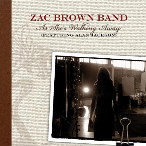 Zac Brown Band featuring Alan Jackson As She's Walking Away cover art