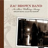 As She's Walking Away sheet music by Zac Brown Band featuring Alan Jackson