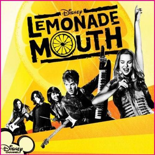 Lemonade Mouth (Movie) Livin' On A High Wire cover art