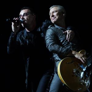 Bono & The Edge Bouncing Off The Walls cover art