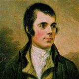 Ye Banks And Braes O' Bonnie Doon sheet music by Robert Burns