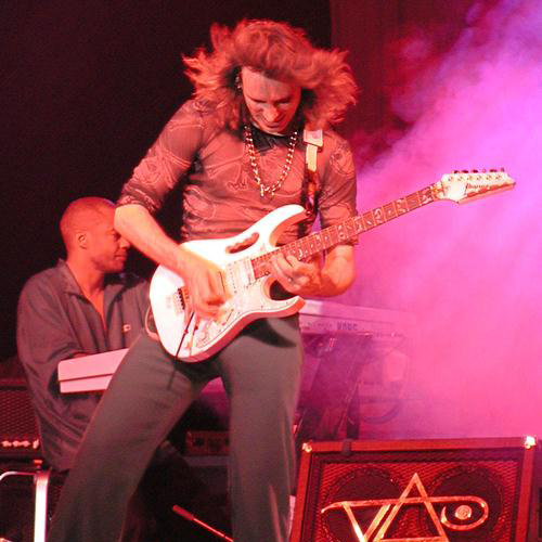 Steve Vai Here & Now cover art