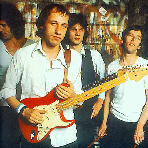 Dire Straits Iron Hand cover art