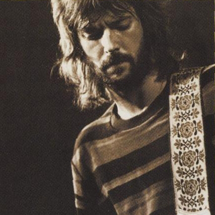 Eric Clapton Born Under A Bad Sign cover art