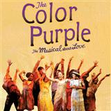 I'm Here sheet music by The Color Purple (Musical)