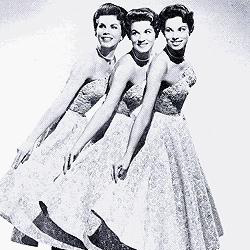 McGuire Sisters Goodnight My Love, Pleasant Dreams cover art