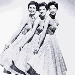 Goodnight My Love, Pleasant Dreams sheet music by McGuire Sisters