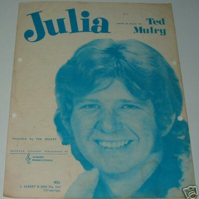Ted Mulry Falling In Love Again cover art