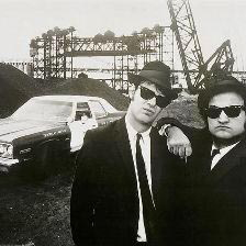 The Blues Brothers Rawhide cover art