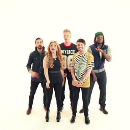 Pentatonix Ah-Ha cover art