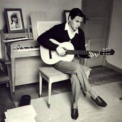 Photograph sheet music by Antonio Carlos Jobim