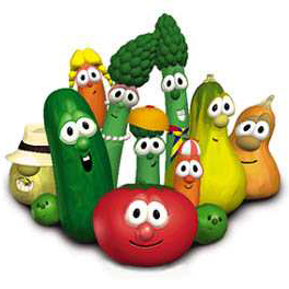 VeggieTales His Cheeseburger cover art