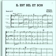 John Leavitt Il Est Bel Et Bon (A Good And Handsome Man) cover art
