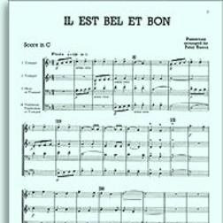 Il Est Bel Et Bon (A Good And Handsome Man) sheet music by John Leavitt