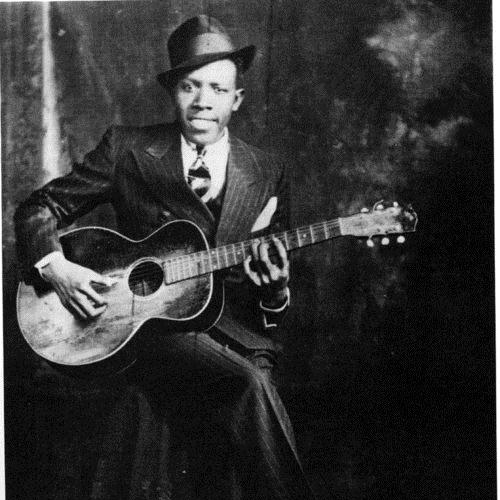 Robert Johnson Ramblin' On My Mind cover art