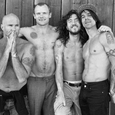 Red Hot Chili Peppers Dark Necessities cover art