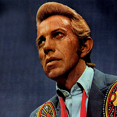 Porter Wagoner A Satisfied Mind cover art