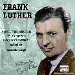Frank Luther:Christmas Is A-Comin' (May God Bless You)