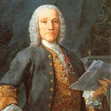 Larghetto sheet music by Domenico Scarlatti