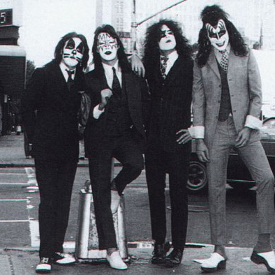 KISS Flaming Youth cover art