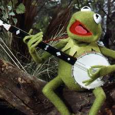 Kermit The Frog Bein' Green cover art