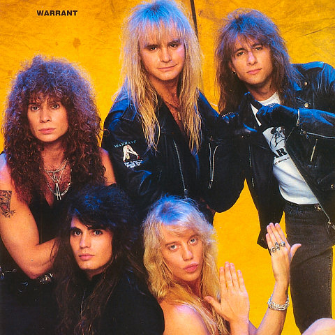 Warrant Down Boys cover art