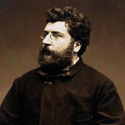 Habanera sheet music by Georges Bizet