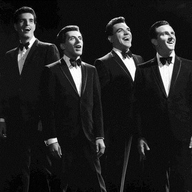 Frankie Valli & The Four Seasons Let's Hang On cover art