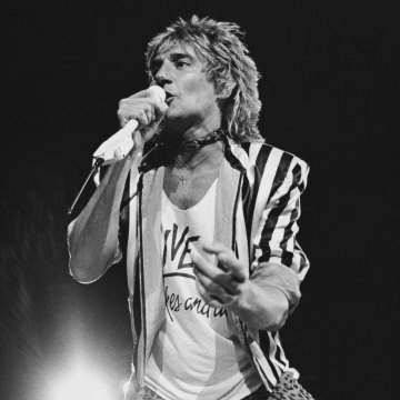 Rod Stewart Forever Young cover art