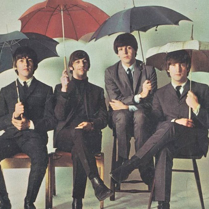 The Beatles Rain cover art