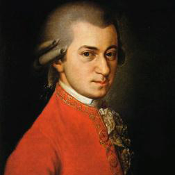 Andantino in E Flat sheet music by Wolfgang Amadeus Mozart